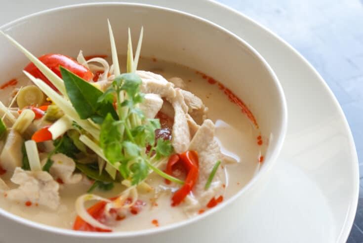 Thai Chicken and Coconut Soup (Tom Kha Gai) Recipe