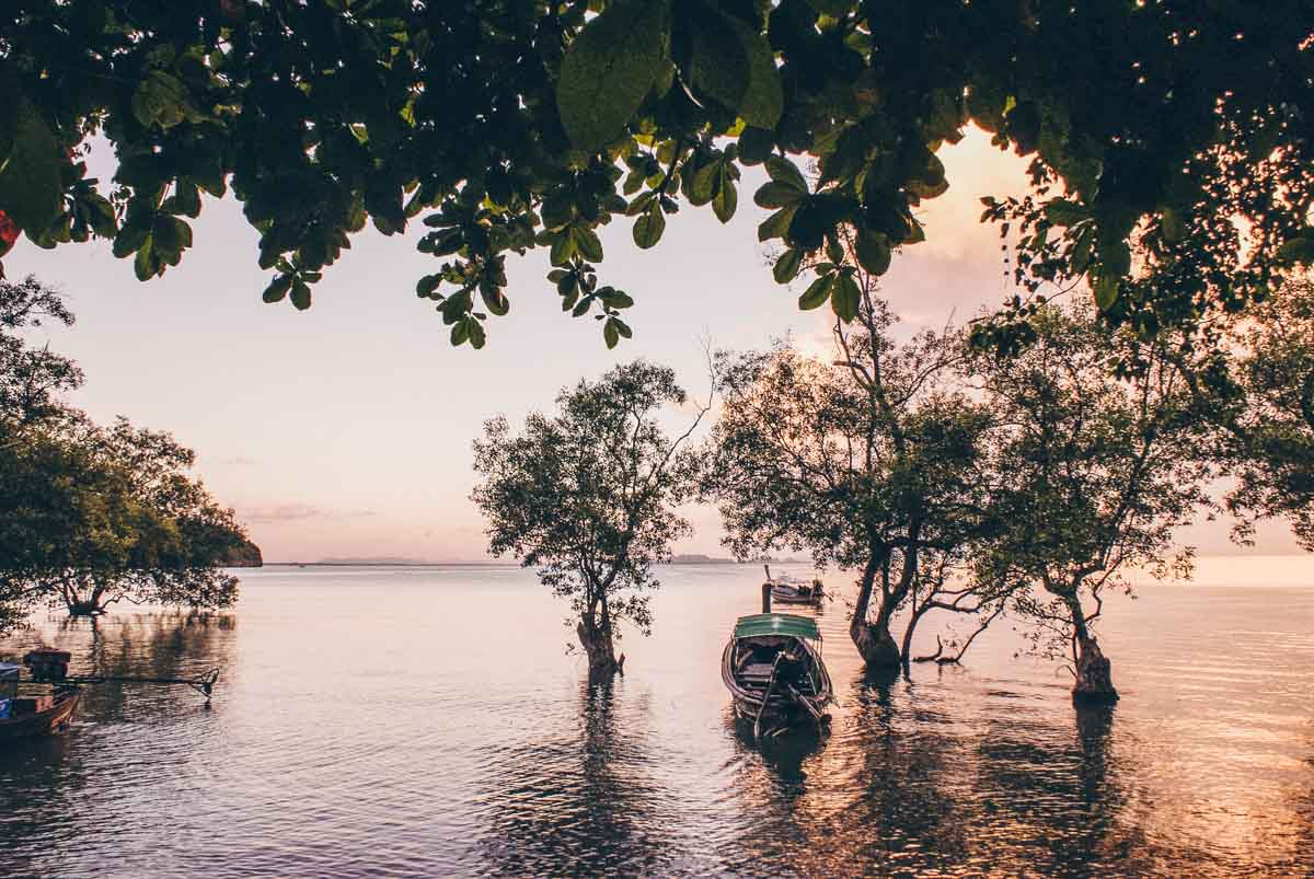 Sunset in Railay East