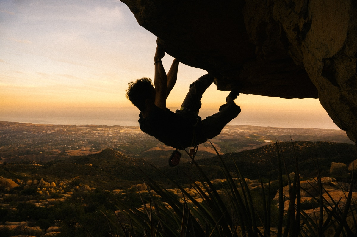 Rock climbing Santa Barbara