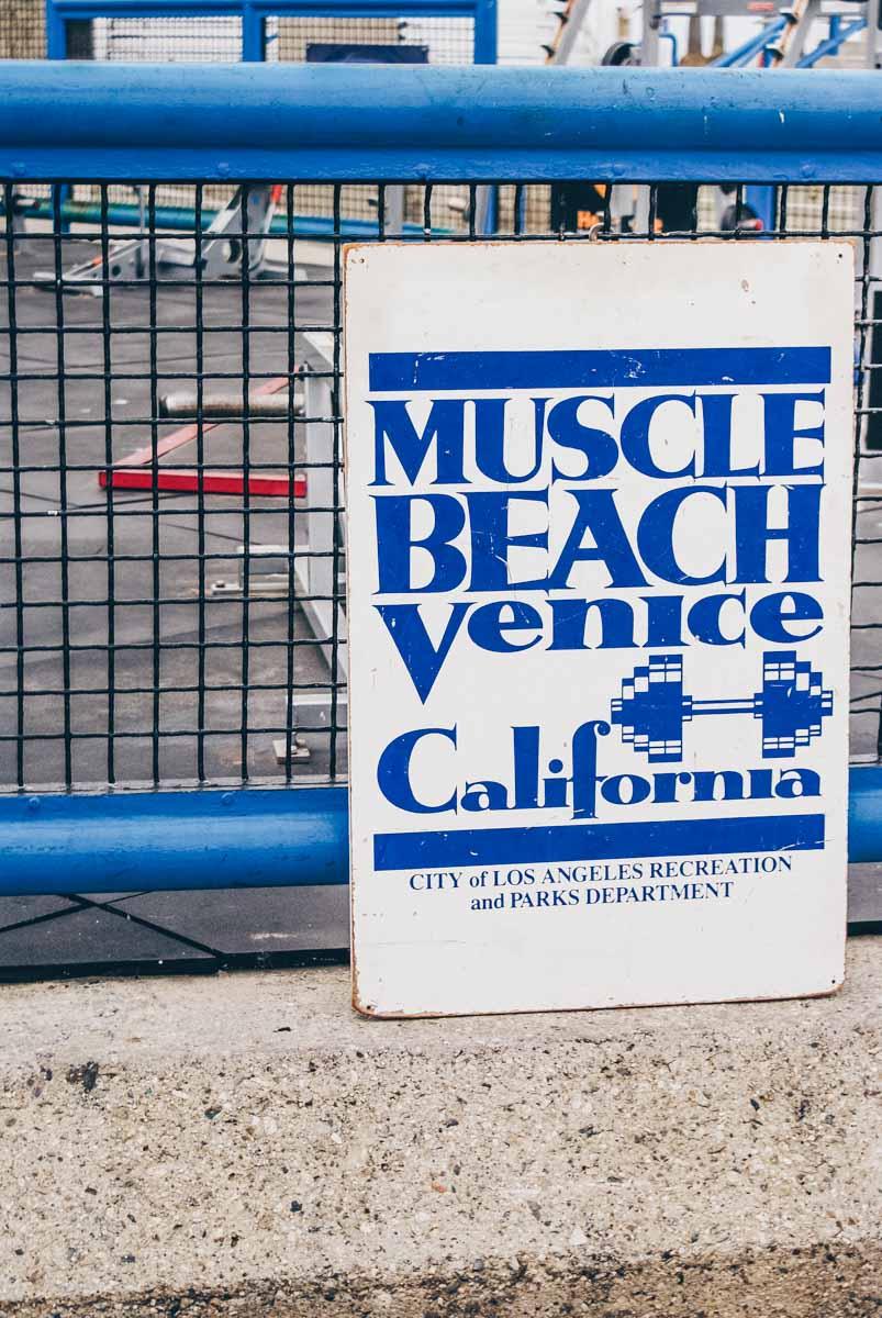 Muscle Beach, Venice
