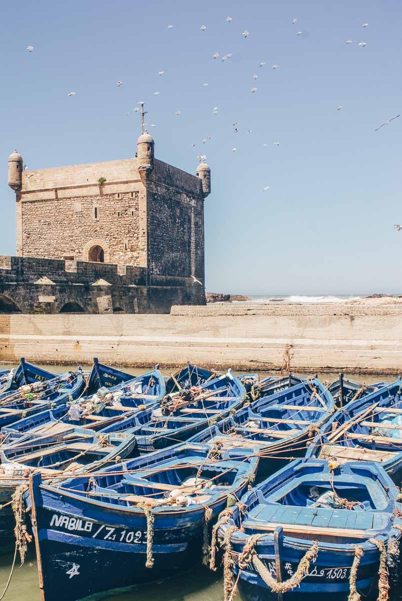 Port at Essaouira