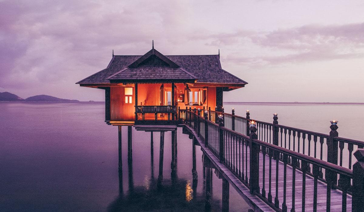 Stilts villa pangkor laut